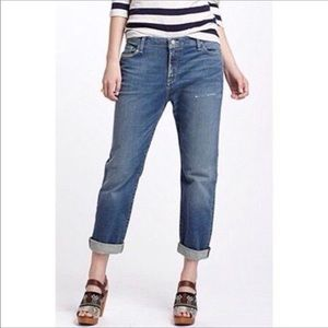 Anthropologie holding horses crop ankle jeans